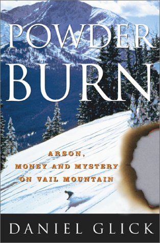 Cover art for the book, Powder Burn